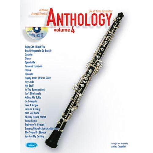 CARISCH CAPPELLARI ANDREA - ANTHOLOGY VOL.4 + CD - OBOE