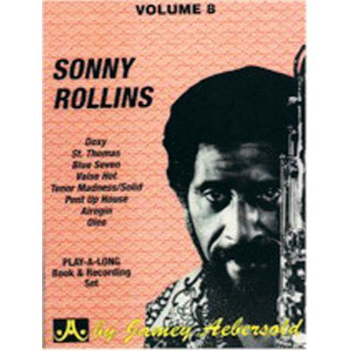 AEBERSOLD AEBERSOLD N°008 - SONNY ROLLINS + CD