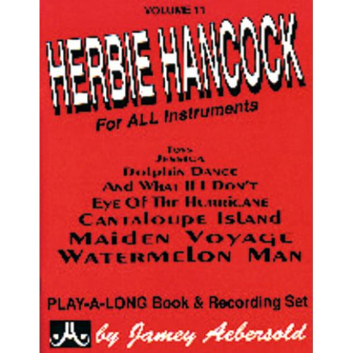 AEBERSOLD AEBERSOLD N°011 - HERBIE HANCOCK + CD