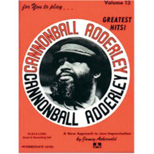 AEBERSOLD AEBERSOLD N°013 - CANNONBALL ADDERLEY + CD