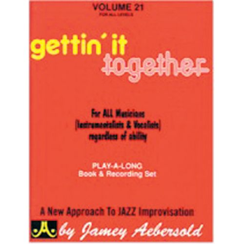 AEBERSOLD AEBERSOLD N°021 - GETTIN' IT TOGETHER + 2 CD