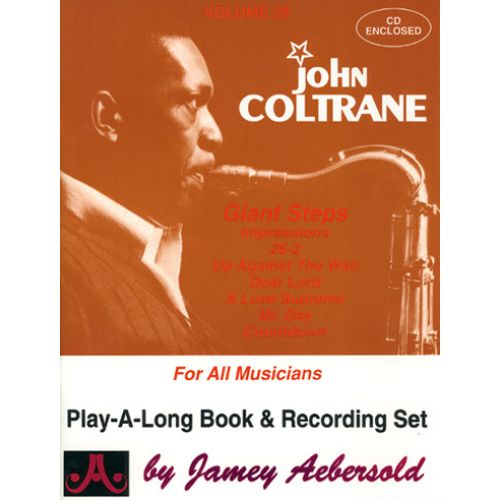 AEBERSOLD AEBERSOLD N°028 - JOHN COLTRANE + CD