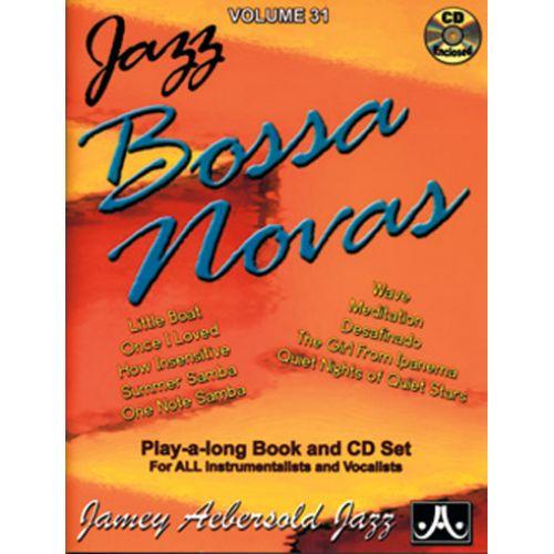 AEBERSOLD AEBERSOLD N°031 - JAZZ BOSSA NOVAS + CD