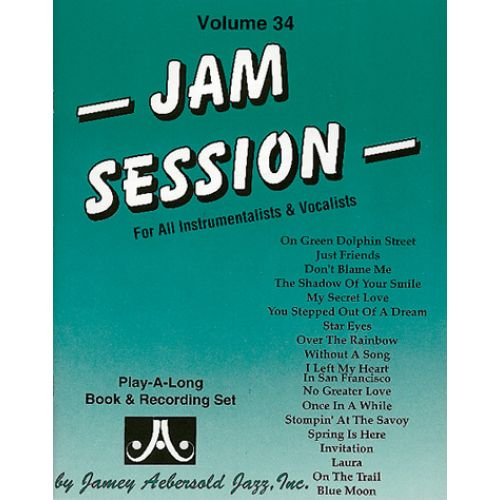 AEBERSOLD AEBERSOLD N°034 - JAM SESSION + 2 CD