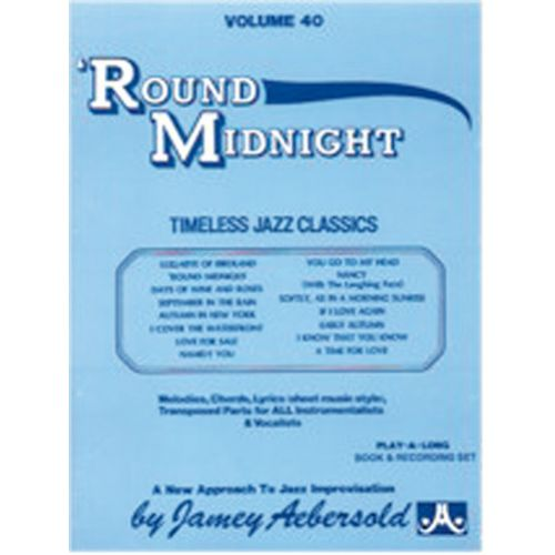AEBERSOLD AEBERSOLD N°040 - ROUND MIDNIGHT + 2 CD