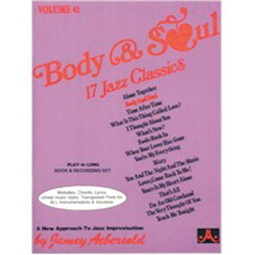 AEBERSOLD AEBERSOLD N°041 - BODY & SOUL + CD