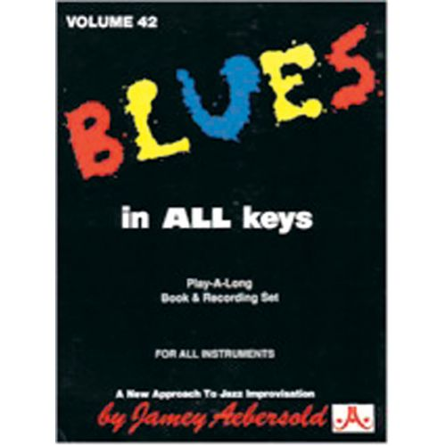 AEBERSOLD AEBERSOLD N°042 - BLUES IN ALL KEYS + CD