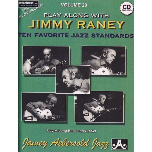 AEBERSOLD AEBERSOLD N° 020 - PLAY ALONG WITH JIMMY RANEY + CD