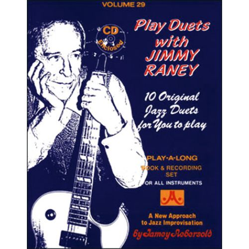 AEBERSOLD AEBERSOLD N°029 - PLAY DUETS WITH JIMMY RANEY + CD