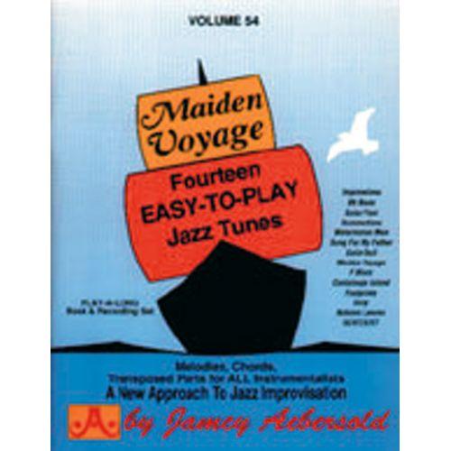 AEBERSOLD AEBERSOLD N°054 - MAIDEN VOYAGE + CD