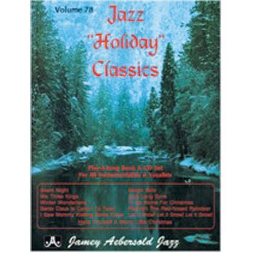 AEBERSOLD AEBERSOLD N°078 - JAZZ HOLIDAY CLASSICS + CD