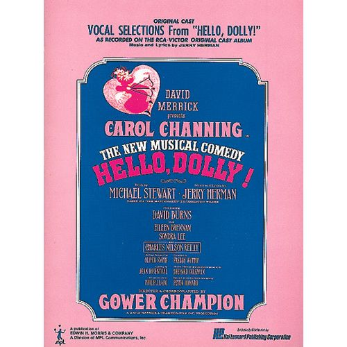 HAL LEONARD HERMAN JERRY - HELLO DOLLY