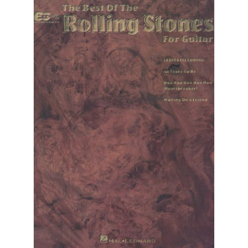 HAL LEONARD ROLLING STONES - BEST OF - EASY GUITAR
