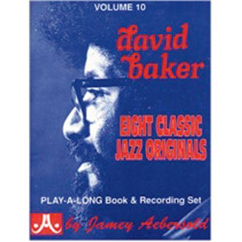 AEBERSOLD AEBERSOLD N°010 - DAVID BAKER + CD