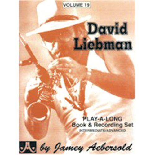 AEBERSOLD AEBERSOLD N°019 - DAVID LIEBMAN + CD
