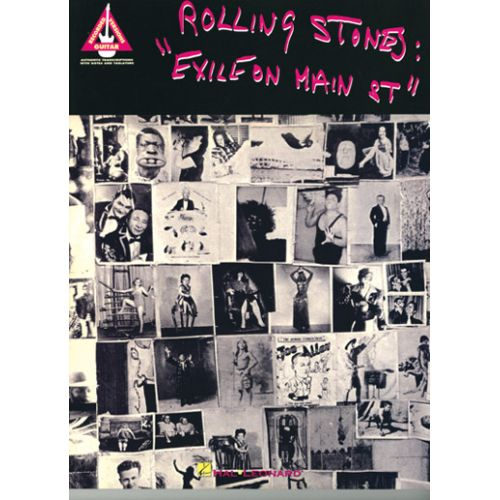 HAL LEONARD THE ROLLING STONES - EXILE ON MAIN STREET - TAB