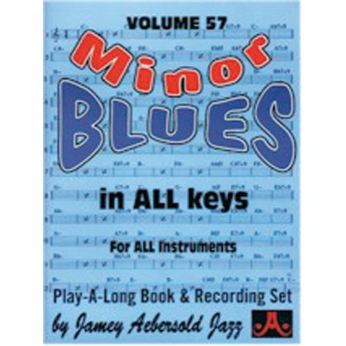 AEBERSOLD AEBERSOLD N°057 - MINOR BLUES IN ALL KEYS + CD