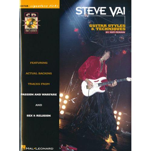 IMP VAI STEVE - SIGNATURE LICKS + CD - GUITARE