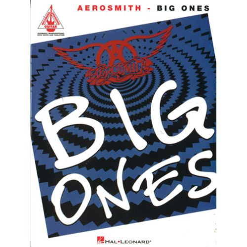 HAL LEONARD AEROSMITH - BIG ONES - GUITARE TAB