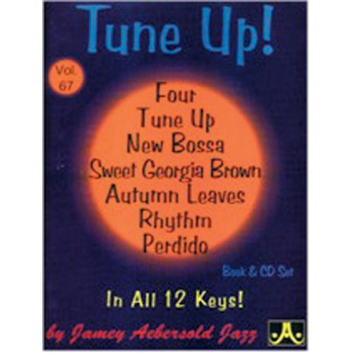 AEBERSOLD AEBERSOLD N°067 - TUNE UP + CD