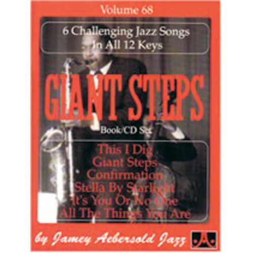 AEBERSOLD AEBERSOLD N°068 - GIANT STEPS + CD