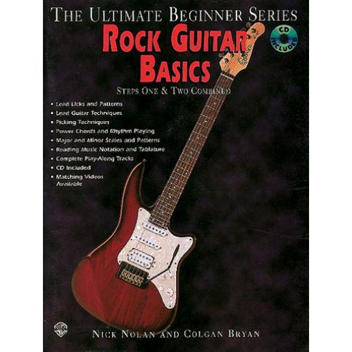 IMP ROCK GUITAR BASICS STEPS 1 AND 2 + CD - GUITARE