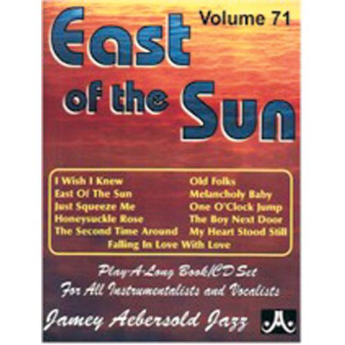 AEBERSOLD AEBERSOLD N°071 - EAST OF THE SUN + CD