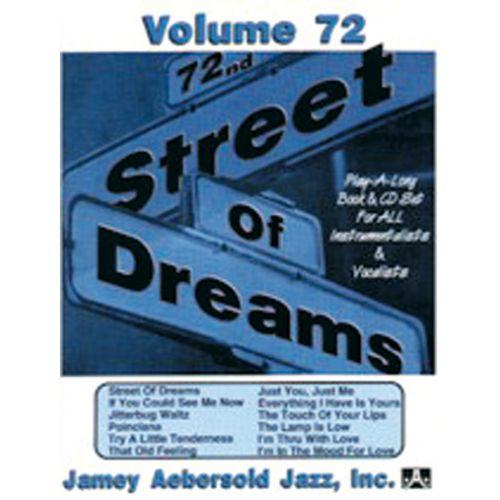AEBERSOLD AEBERSOLD N°072 - STREET OF DREAMS + CD