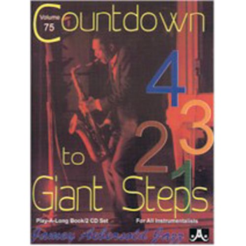 AEBERSOLD AEBERSOLD N°075 - COUNTDOWN TO GIANT STEPS + 2 CD - TOUS INSTRUMENTS