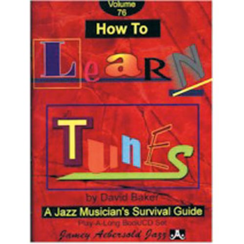 AEBERSOLD AEBERSOLD N° 076 - HOW TO LEARN TUNES + CD