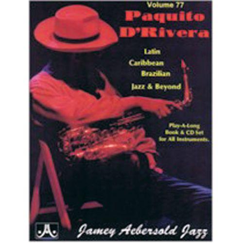 AEBERSOLD AEBERSOLD N°077 - PAQUITO D' RIVERA + CD