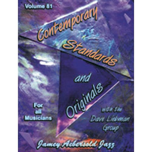 AEBERSOLD AEBERSOLD N°081 - DAVID LIEBMAN : CONTEMPORARY STANDARDS AND ORIGINALS + CD