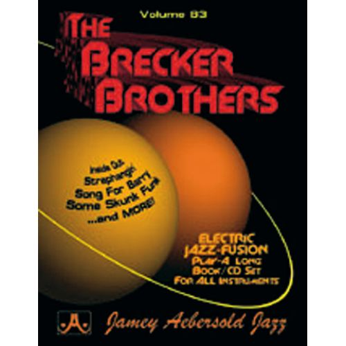 AEBERSOLD AEBERSOLD N°083 - THE BRECKER BROTHERS + CD