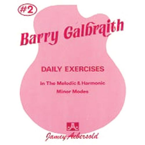 AEBERSOLD GALBRAITH BARRY - DAILY EXERCISES MINOR MODES 2 - GUITARE