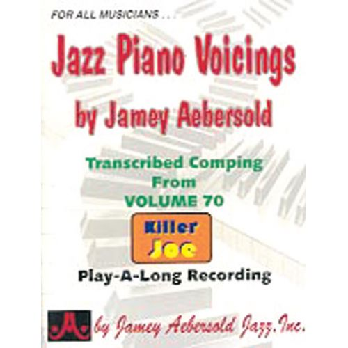 AEBERSOLD AEBERSOLD JAMEY - JAZZ PIANO VOICINGS FROM VOL.70 - PIANO