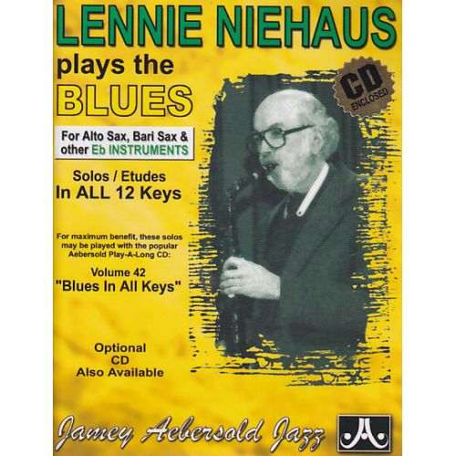 AEBERSOLD NIEHAUS LENNIE - PLAYS THE BLUES - INSTRUMENTS EN MIB + CD