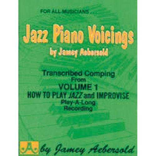 AEBERSOLD AEBERSOLD JAMEY - JAZZ PIANO VOICINGS FROM VOL. 1 - PIANO