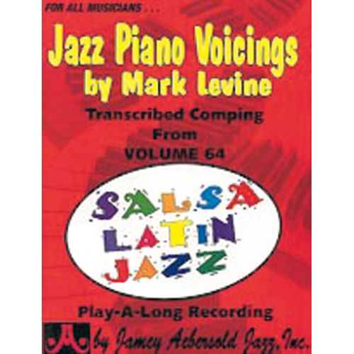AEBERSOLD LEVINE MARK - JAZZ PIANO VOICINGS FROM VOL. 64 - PIANO