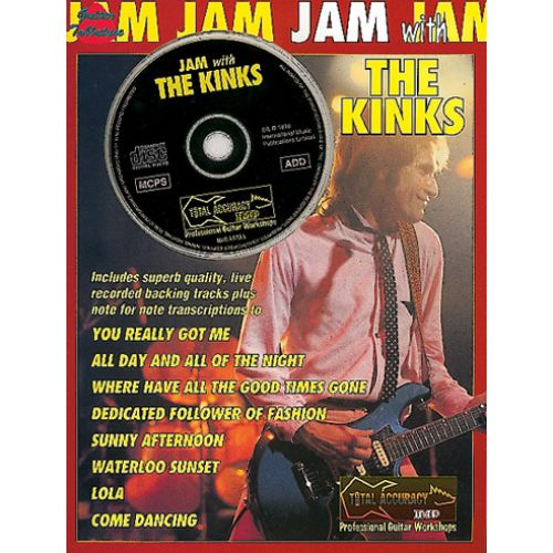 IMP KINKS, THE - JAM WITH KINKS + CD - GUITARE TAB