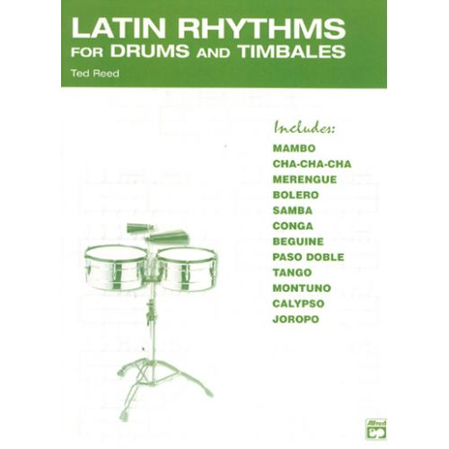 ALFRED PUBLISHING REED TED - LATIN RYHTHMS - PERCUSSIONS