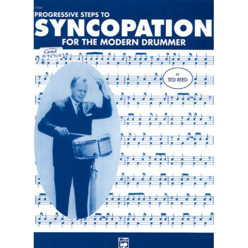 ALFRED PUBLISHING REED TED - SYNCOPATION MODERN DRUMMER - BATTERIE