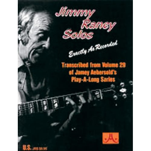 AEBERSOLD RANEY JIMMY - EXACTLY AS RECORDED FROM VOLUME 29