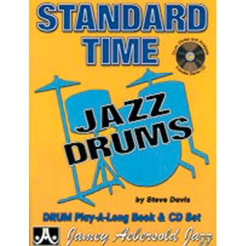 AEBERSOLD DAVIS STEVE - STANDARD TIME + CD - BATTERIE