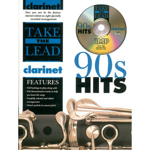 IMP TAKE THE LEAD 90' HITS + CD - CLARINETTE