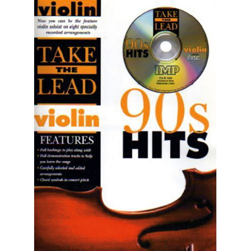 IMP TAKE THE LEAD 90' HITS + CD - VIOLON
