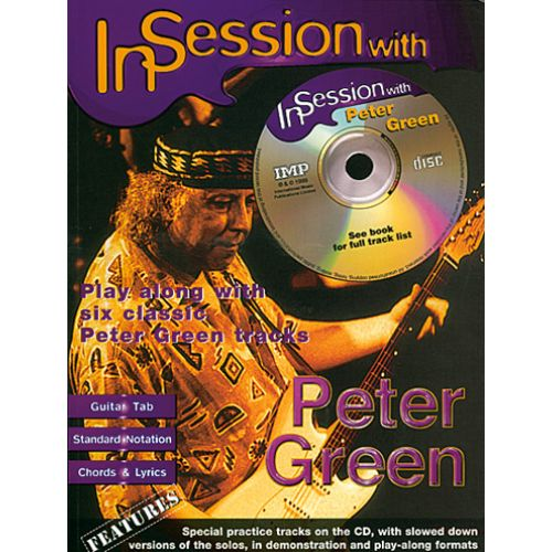 IMP GREEN PETER - IN SESSION WITH + CD - GUITAR TAB