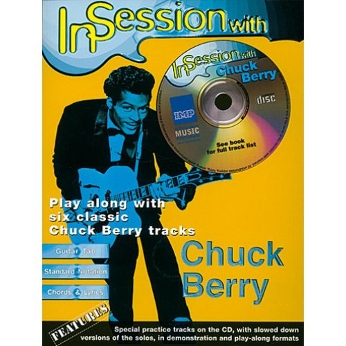 IMP BERRY CHUCK - IN SESSION WITH CHUCK BERRY + CD - GUITARE TAB
