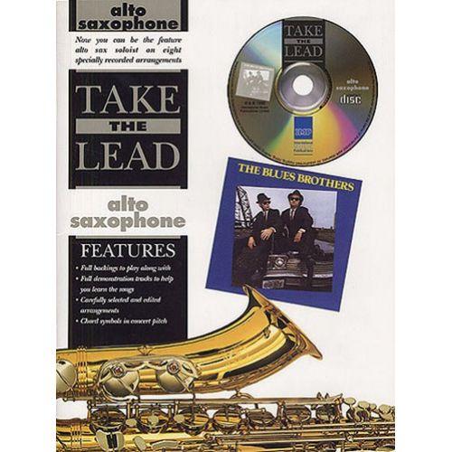 IMP TAKE THE LEAD BLUES BROTHERS + CD - SAXOPHONE ALTO