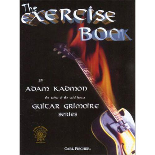 CARL FISCHER KADMON ADAM - EXERCISE BOOK - GUITARE