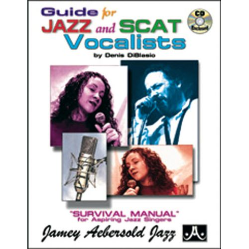 AEBERSOLD GUIDE JAZZ & SCAT VOCALIST + CD - CHANT